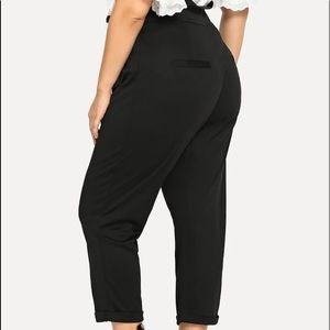 Night Out Tie Waist Pant
